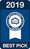 Rutter Roofing | A Best Pick Certified Company | Annual Certification Badge